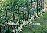 garden short fence buy garden partition fence small garden fence