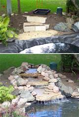 DIY Garden Waterfalls | The Garden Glove
