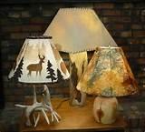 rustic lamp shade