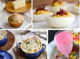 Garden party Easter brunch menu