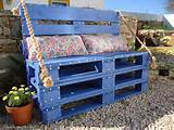 creative ideas creative garden bench from pallet