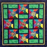 big island hawaii shop hop quilt 2014 hawaii flower garden quilt by