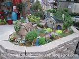 ... garden accents, it was the grandest fairy garden display I had seen