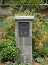 Stone Mailbox | Beautiful Homes Design