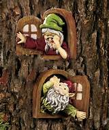 fairy garden accessories gnome window