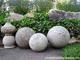 restoration hardware garden spheres gardening flowers outdoor