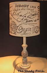 Script Lamp Shade