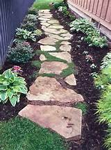 Walkway – love the stones with steppable plants between and plants ...