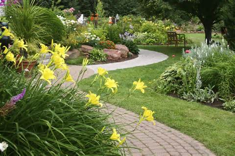 Front Yard No Grass Landscape Ideas | Small Yard Landscaping Ideas