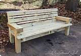 diy outdoor bench home design ideas