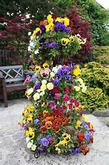 National Garden Competition, England - love this ideas - stack large ...