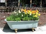 Repurposing Ideas for the garden | Repurposed Items | Pinterest