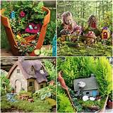 Very cute little fairy and gnome garden. | Garden Ideas for a Magical ...