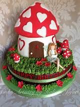 fairy garden cake cakes pinterest