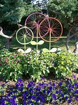 garden art DIY Bicycle Reuse Ideas diy ideas