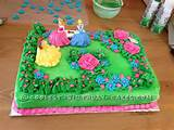 Pretty Princess Garden Cake
