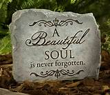 Beautiful Soul Memorial Garden Stone