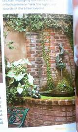 fountain outdoor ideas pinterest