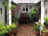beautiful brick courtyard designs ideas exterior garden simple small