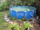 Diy Above Ground Pool Landscaping About an above ground pool
