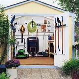 organizing sheds