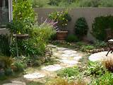 Pathway to narrow side yard makeover by Shirley Bovshow | Eden Makers ...