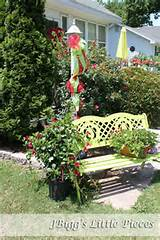 love the color and whimsy here. | Garden Ideas | Pinterest