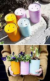 24 creative garden container ideas tin can planters 14 jpg