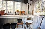 Inside the Garden Shed (via Houzz) | Gardening Sheds & Peaceful Ideas ...