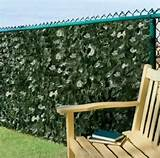 ivy wall fence privacy screen outdoor patio lawn garden decor ebay