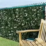 ... Ivy Wall Fence Privacy Screen Outdoor Patio Lawn Garden Decor | eBay