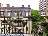 parchitectural simple apartment balcony garden ideas with flowers