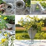 diy garden crafts outdoor decoration ideas tutorial roundup