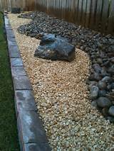 River Rock with Decomposed Granite contemporary-landscape