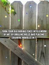 fun fence idea