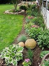 Flower Bed Ideas for the fence line | Landscaping | Pinterest