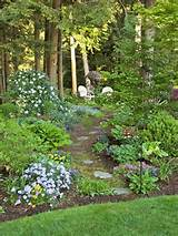 Wooded gardens: Garden Ideas, Gardens Paths, Woodland Gardens, Gardens ...
