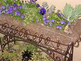 GARDEN FLOWER PLANTER | IDEAS and DIY projects | Pinterest