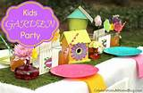 Ideas For Throwing A Garden Party For Kids