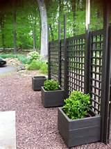 trellis diy movable privacy screen brattle fence interiorsalvage by ...