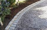 stone edging gravel driveway ideasgardens ideas house ideas gravel