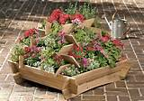 here s a pyramid planter that is ideal for flowers herbs greens