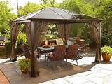 home garden gazebo elegant ideas habitat pinterest