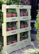 gardens gardens ideas pallets gardens outdoor pallet herb gardens