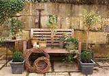 old garden bench with flowers backyard ideas creative ideas for ...