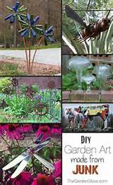 diy junk garden art ideas and tutorials by cherylv63