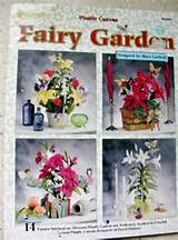 fairy garden plastic canvas patterns 14 fairies boquets panacea