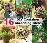 16 inspiring diy container gardening ideas diy cozy home world