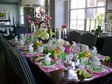 decorated table can make your home feel more welcoming immediately