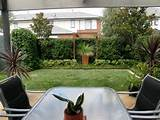 small garden designs small garden deck pinterest